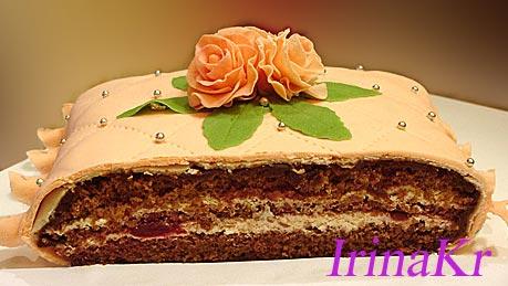 Коробка торт для подарка фото 6